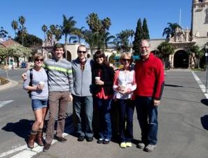A trip to Balboa Park. A gorgeous day in the sun.