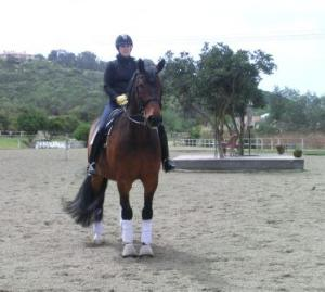 Linds and Lance yesterday, end notes after a great ride.