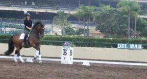 Lance, yesterday, Del Mar CDI