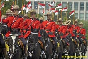 Lotsa Mounties...