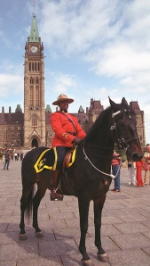 and we have Mounties...