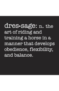 The art of dressage