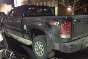 The end of another long day...my truck needs a bath!!