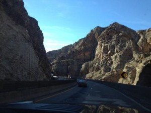 Such a gorgeous drive...