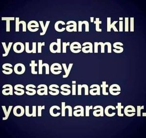 they can't kill your dreams