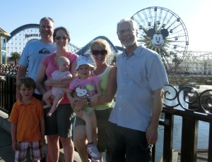 A family Disney photo...