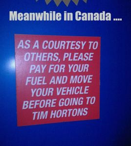 Welcome to Canada...