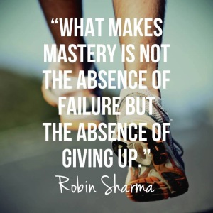 Absence of Giving Up