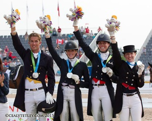 dressage silver pan am
