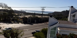 The view from our condo balcony...you can see the whales spouting out there as they travel by... :)