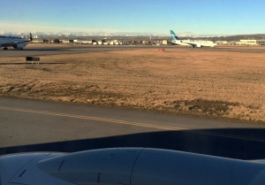 Leaving from Calgary...yeah Westjet!