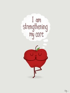 Strengthing my core apple