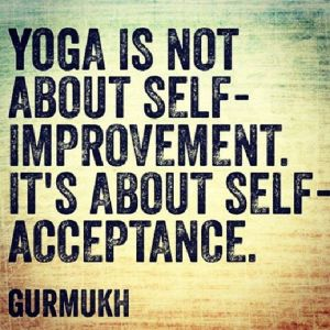 yoga self acceptance